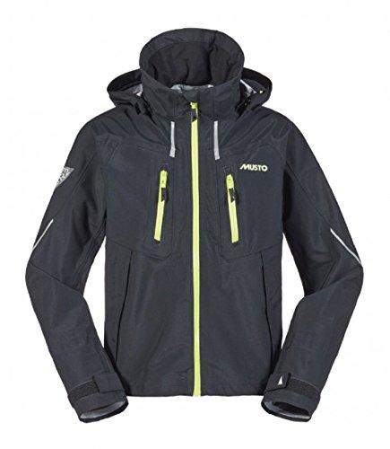 Musto Br2 Race Lite Coat Mantel Schwarz - Leicht. Wasserdicht und atmungsaktiv