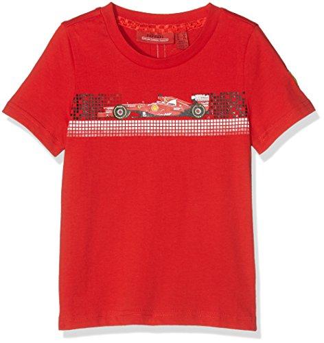 Ferrari Herren T-Shirt Graphic Tee 1 Rot