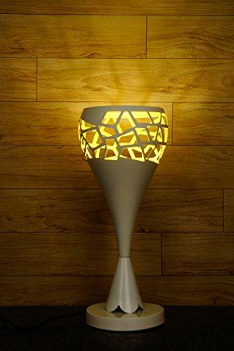 Tu Casa P9-A 220-Watt Table Lamp (White)