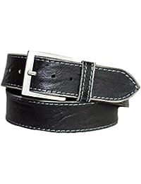 15bf1ed1da67 Eg-Fashion Herren Gürtel 5 cm breiter Hand Made Jeans Gürtel aus 100%  Büffelleder