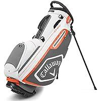 Callaway CG BG ST Chev Bolsas de Golf, Hombre, Blanco/Carbón, Talla única