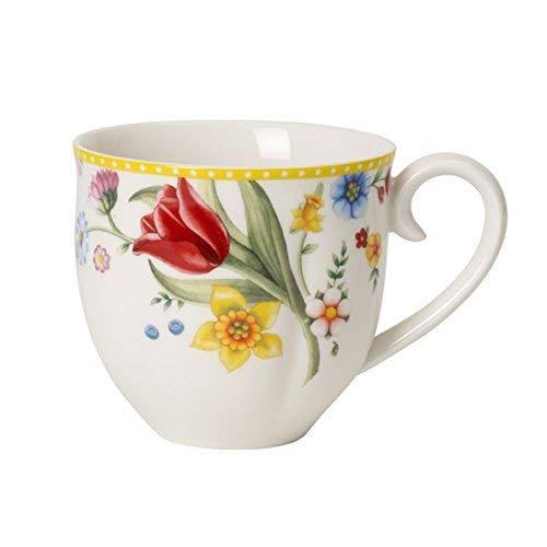 Villeroy & Boch Spring Awakening Tasse, 400 ml, Porcelaine, Jaune
