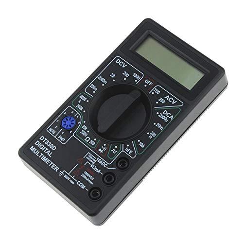 Lorenlli DT-830D Mini-Taschen-Digitalmultimeter 1999 Zählt AC/DC-Volt-Verstärker Ohm-Diode HFE-Durchgangsprüfer Amperemeter Voltmeter Ohmmeter