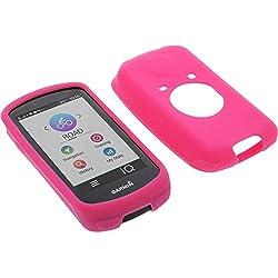 Funda para Garmin Edge 1030 protectora silicona carcasa protección rosa