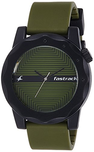 Fastrack Analog Multi-Colour Dial Men\'s Watch - 38022PP08
