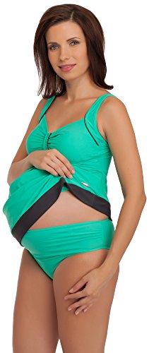 Be Mammy Maternity Bathing Suit GR1C2 Minze/Graphit