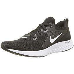 Nike Wmns Legend React, Zapatillas de Running para Mujer, Negro (Black/White 001)
