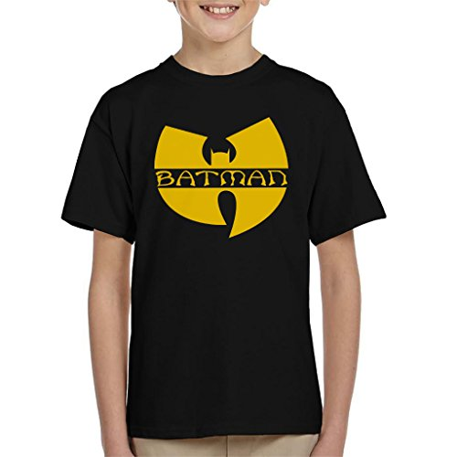 Batman Wu Tang Clan Logo Mix Kid's T-Shirt