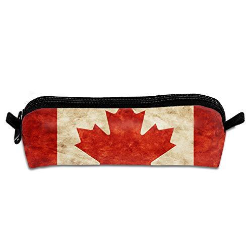 Canada Maple Portable Pen Bag Stylish Zipper