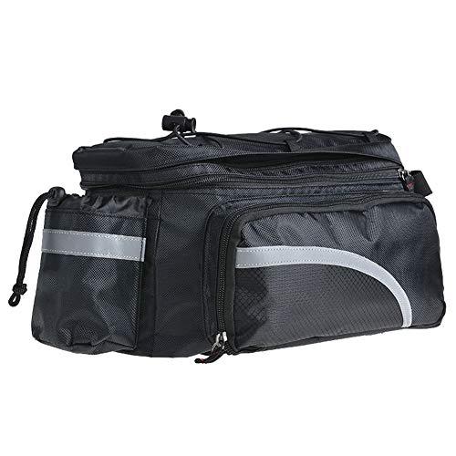 GYFHMY Outdoor 17L Fahrradgepäckträger-Tasche, Gepäckrucksack für den