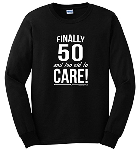 50th-birthday-gifts-for-all-50-and-too-old-to-care-long-sleeve-t-shirt-4x-large-navy