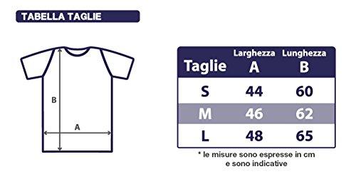 T-Shirt Donna Collo Barca Kiss Me I'M Tattoed Idea Regalo Bianco