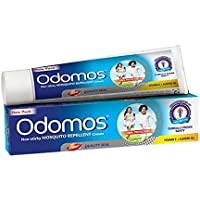 Odomos Non-Sticky Mosquito Repellent Cream (With Vitamin E & Almond) - 100g