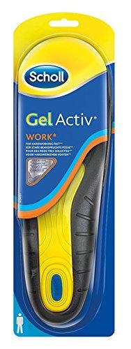 Scholl Einlegesohlen GelActiv Work (Gr.42-48) 1 Paar