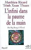 L'infini dans la paume de la main - Du Big Bang a? l'Eveil (French Edition) by Matthieu Ricard(1905-06-22) - NiL/Fayard