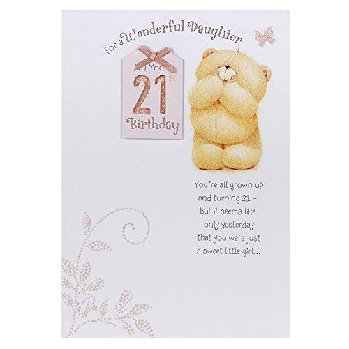 Hallmark Forever Friends 21st Birthday Card For Daughter Proud Of – 21st Birthday Cards Daughter
