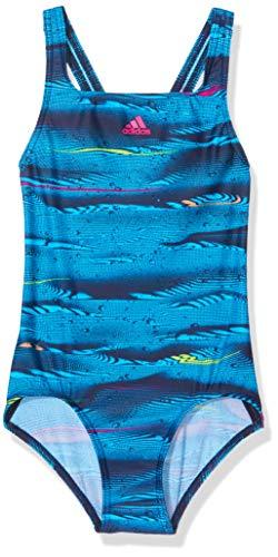 07123ff50761 Adidas Parley Maillot de Bain 1 pièce pour Fille L Dark Blue/Legend Ink