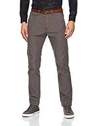 TOM TAILOR Denim Herren Hose Basic Chino Yd with Belt