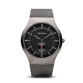 BERING Reloj Analógico para Hombre de Cuarzo con Correa en Acero Inoxidable 11940-377