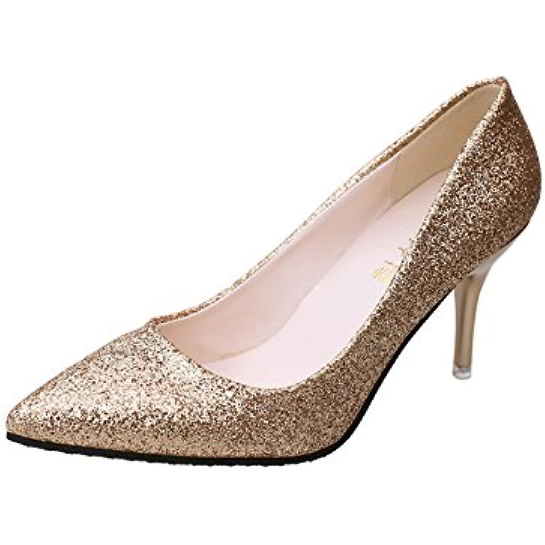 Moda scarpe da donna Video fine sottile con scarpe High-Heel scarpe bocca poco profonde solo scarpe High-Heel da punta femmina... Parent b92406
