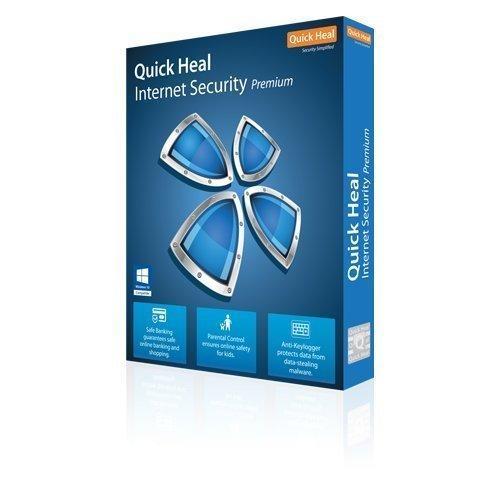 Quick Heal Premium Quality Internet Security 3 PCs, 1 Year