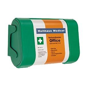 Holthaus Medical Büro/Office Verbandkasten mit Wandhalterung DIN 13 157