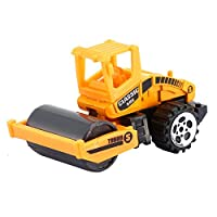 Mini Alloy Engineering Car Model Tractor Toy Dump Truck Model Classic Toy Small Vehicles Birthday Gift For Boys - Yellow