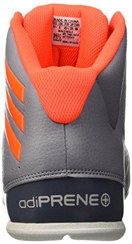 adidas Herren Nxt Lvl Spd Iv Basketballschuhe Gris (Gris / Rojsol / Onix)