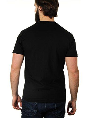Gangsta Napper - Herren T-Shirt von Kater Likoli Deep Black