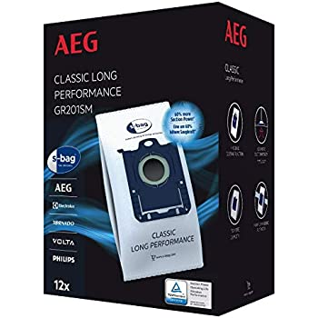 4  Staubsaugerbeutel AEG Gr 201  für AEG-Electrolux UltraOne UODELUXE
