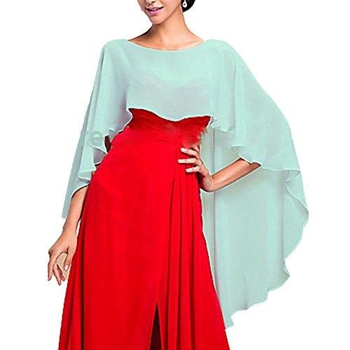 YoYodress Chiffon Stola Schal für Kleider in verschiedenen Farben zu jedem Brautkleid - Abendkleid - Kleider Billig Renaissance