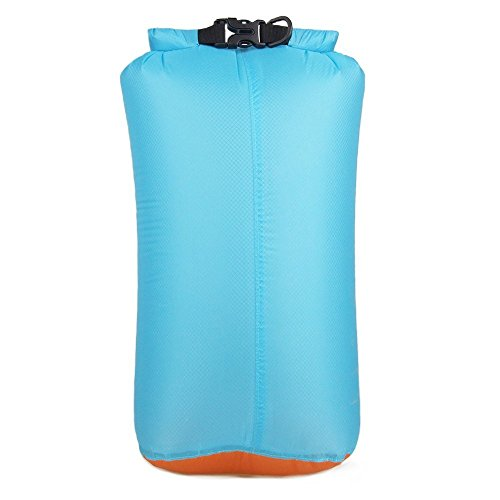 Tykusm outdoor sports dry bag sacco a pelo a compressione in nylon impermeabile storage (cielo blu)