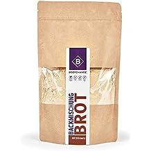 BodyChange Brotbackmischung - GLUTENFREI, paleo, ohne Weizen, zuckerarm - Dunkel mit Körnern