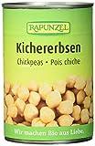 Rapunzel Kichererbsen in der Dose, 3er Pack (3 x 400 g) - Bio