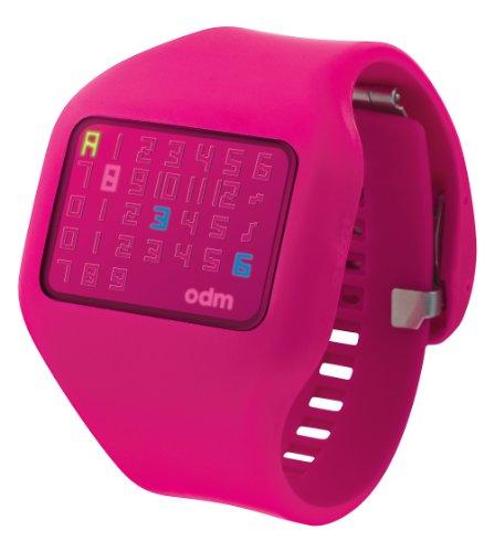 o.d.m. women's dd126-3 illumi digital pink watch