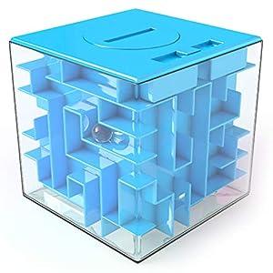 Huchas Originales aGreatLife Caja Money Maze Laberinto De Dinero | Cubo Puzzle Rompecabezas | Idea Original Para Regalar…