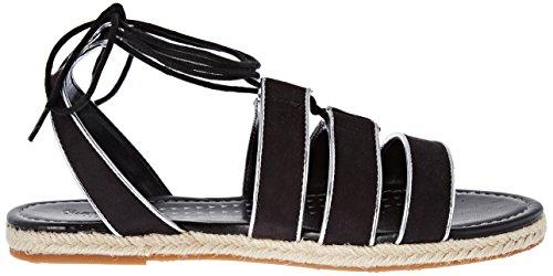 nero Colore London Di Jeans Pepe Venize Donna Sandali Lacci 8S5TUw