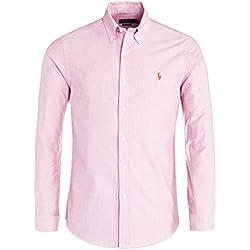 Ralph Lauren Camisa casual - Básico - con botones - para hombre Rosa rosa M