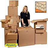 10 x Davpack Double Wall Cardboard Boxes (762mm x 457mm x 457mm) - 200+ Sizes Available - Ref ADW50