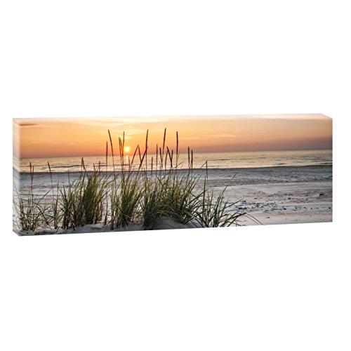 Sonnenuntergang am Meer | Panoramabild im XXL Format | Poster | Wandbild | Fotografie | Trendiger...