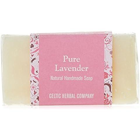 El Celtic Herbal jabón hecho a mano puro, lavanda