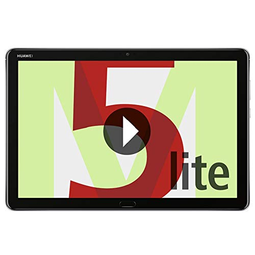 Huawei MediaPad M5 Lite Tablet-PC 25, 6 cm (10, 1 Zoll), Full HD, Kirin 659, 4 GB RAM, 64 GB interner Speicher, Android 8.0, EMUI 8.0, Grau