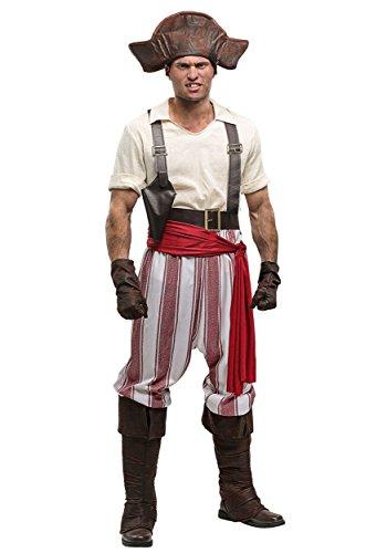Seven Seas Pirate Men's Fancy dress costume X-Large