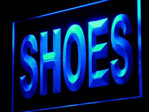 Enseigne Lumineuse i999-b Shoes Supplier Shop Display Metal LED Light Sign
