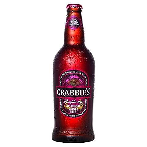 Crabbies Scottish Raspberry 500ml