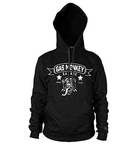 Merchandise GMG - Blood Sweat & Beers Hoodie (Black), X-Large (Monkey Hoodie)