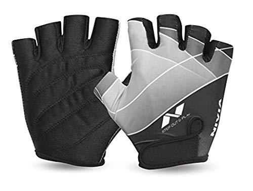 Nivia Crystal Gym Gloves (M)