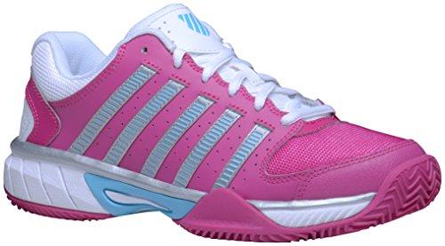 Damen-sommer-tennis-schuhe (K-Swiss Damen KS Express LTR HB Sneaker, Pink, 39 EU)