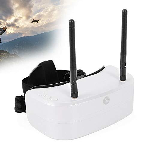 SENDERPICK 48CH FPV Video Brille, 5.8G 960*240 Dual Screens Adjustable Distance Video Headset Unterstützung tragen Brille FPV Headset Goggles