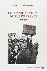 Les manifestations de rue en France : 1918-1968